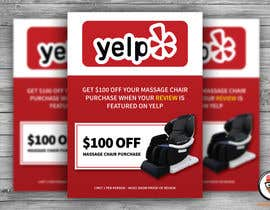 nº 82 pour FAST WORK - EASY MONEY - Design a Yelp Promotional Flyer par nuwancreation