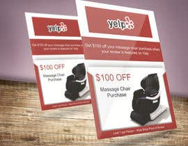 nº 114 pour FAST WORK - EASY MONEY - Design a Yelp Promotional Flyer par lahirusenarathne