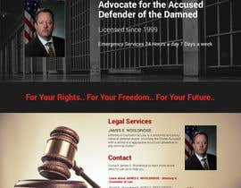 nº 25 pour Design a Website Mockup for Lawyer par vivekdaneapen
