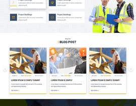 Nro 59 kilpailuun Design a Website Mockup for Commercial Builders käyttäjältä akminfo