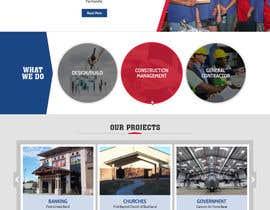 Nro 65 kilpailuun Design a Website Mockup for Commercial Builders käyttäjältä pixelwebplanet