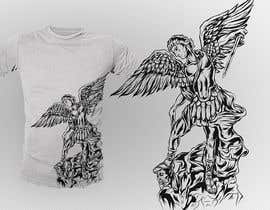 nº 39 pour T-Shirt Design:  Catholic Saint Michael the Archangel par dsgrapiko