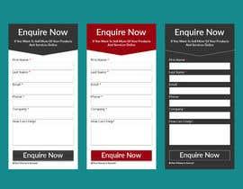 nº 10 pour I need some form widget designed for my website sidebar par jhrmahadi