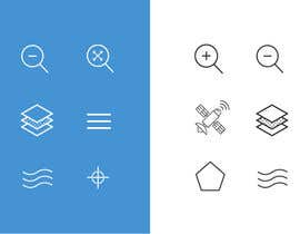 nº 3 pour Design some standard Icons for Apple App par Mayursinh007