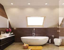 nº 21 pour Design a modern bathroom par huepic