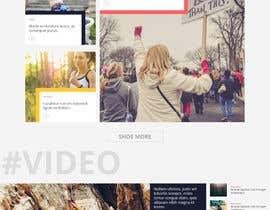 #23 for Create a WordPress Template by AyazAhemadKadri