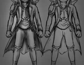 #14 para Illustrate Captain Sideways por helochaz