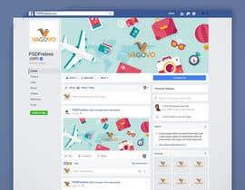 nº 8 pour Design a Banner for Facebook par mdakasabedin