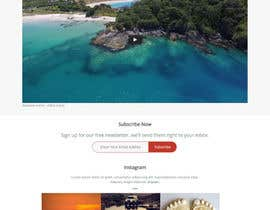 nº 6 pour 1 page - landing page in html / CSS for a mobile app w/ Instagram feed par SushantBorsania