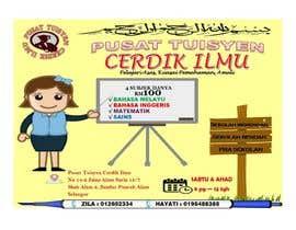#13 for Design a Banner Pusat Tuisyen Cerdik Ilmu by AliaFatin
