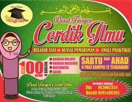 #25 for Design a Banner Pusat Tuisyen Cerdik Ilmu by kambadesign25