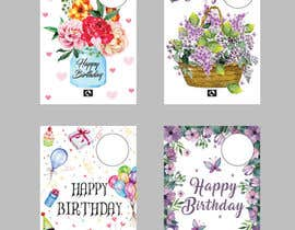 nº 74 pour Develop 16 new FLOWER MAGIC Greeting cards for Mother's Day/birthday par Quay3010