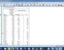 nº 1 pour Statistical Analysis par sumbali
