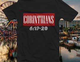 nº 32 pour Design a T-Shirt( Corinthians 6:19-20) par nobelahamed19