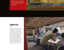 nº 10 pour Design a Website Mockup for Dream Game Studio par Stunja