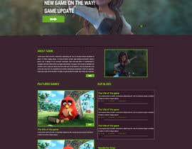 nº 36 pour Design a Website Mockup for Dream Game Studio par aminurtopu