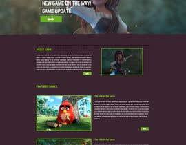 nº 37 pour Design a Website Mockup for Dream Game Studio par aminurtopu