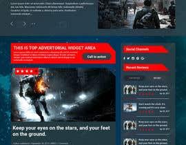 nº 17 pour Design a Website Mockup for Dream Game Studio par doomshellsl