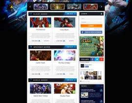 nº 21 pour Design a Website Mockup for Dream Game Studio par salman132
