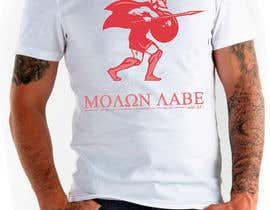 nº 52 pour Design Spartan Soldier - Molon Labe par SCategory