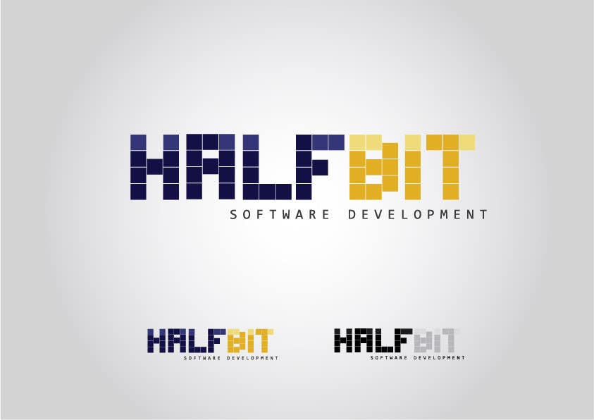 #238 for Logo Design for HalfBit by RGranston