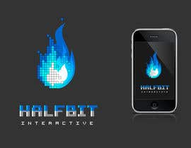 nº 471 pour Logo Design for HalfBit par Glukowze