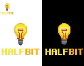 nº 533 pour Logo Design for HalfBit par winarto2012
