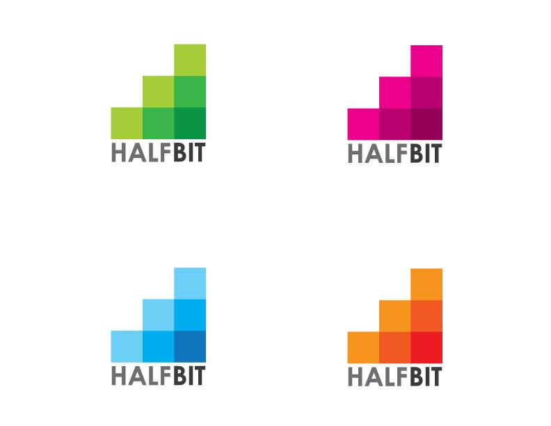 #297 for Logo Design for HalfBit by DSGinteractive
