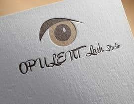 nº 85 pour Opulent Lash Studio Logo par mehedimasudpd
