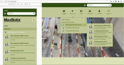 Image of                             Create drop down menu on WP Temp...