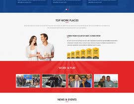 nº 2 pour Design a Website Mockup - HOMEPAGE ONLY - for a Mortgage Company par webidea12