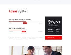 nº 23 pour Design a Website Mockup - HOMEPAGE ONLY - for a Mortgage Company par SamiraSarwar