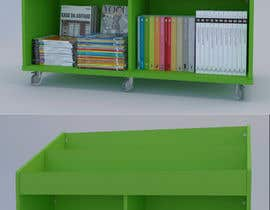 nº 17 pour Do photo realistic render of book display par EW3Architecture