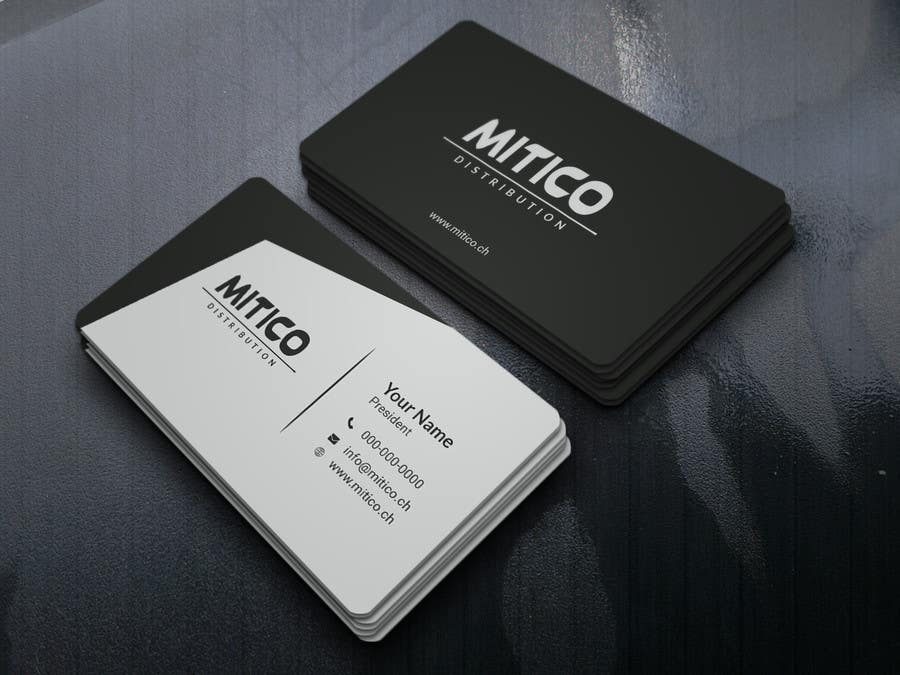 Proposition n°17 du concours Design some Business Cards for Mitico