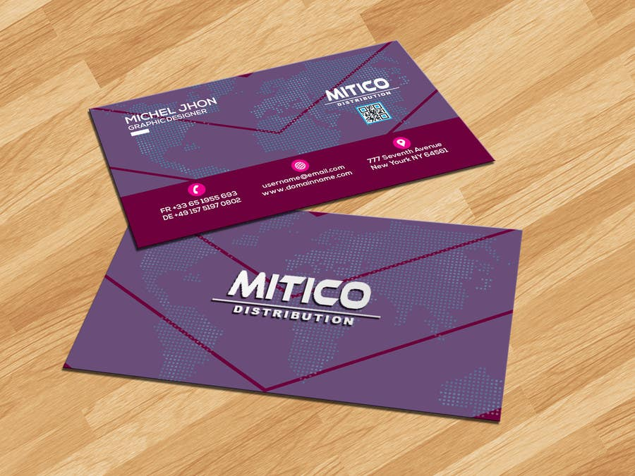Proposition n°93 du concours Design some Business Cards for Mitico