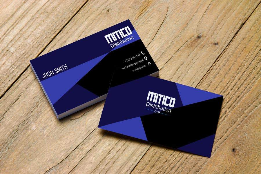 Proposition n°116 du concours Design some Business Cards for Mitico