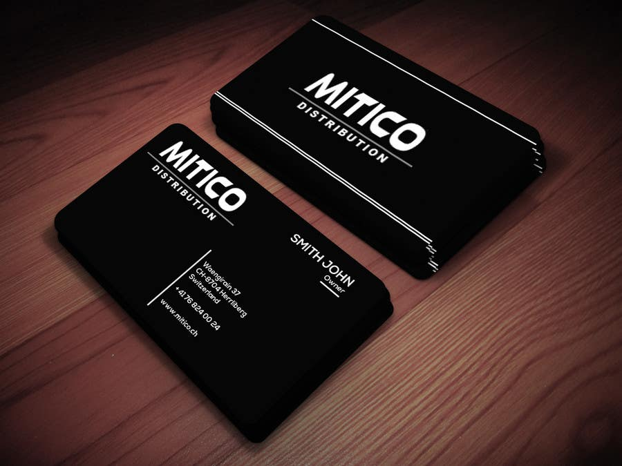 Proposition n°15 du concours Design some Business Cards for Mitico