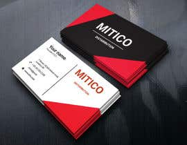 nº 100 pour Design some Business Cards for Mitico par yusuf6039