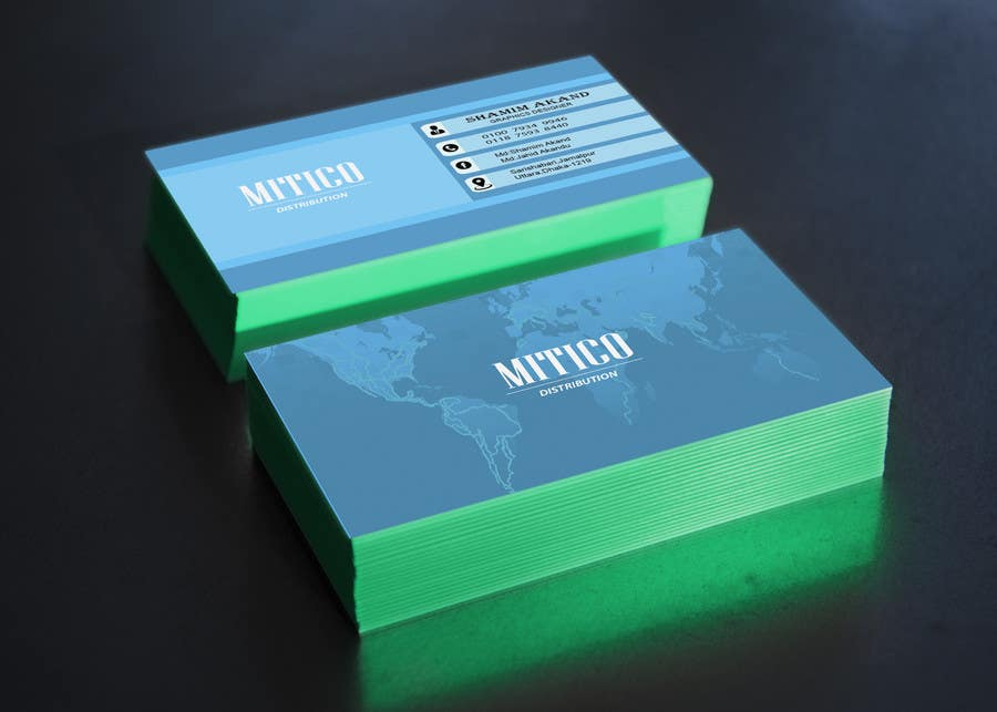 Proposition n°138 du concours Design some Business Cards for Mitico