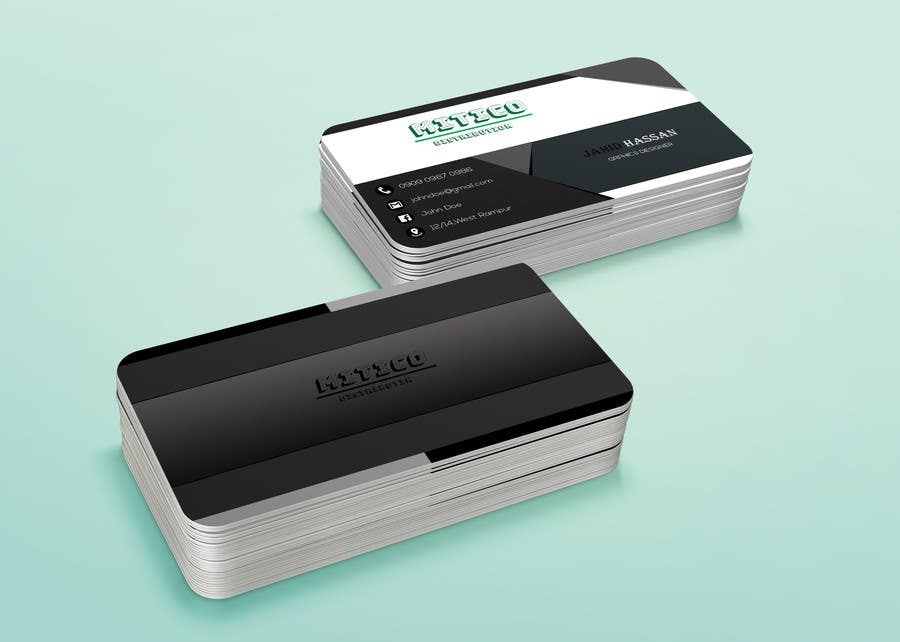 Proposition n°139 du concours Design some Business Cards for Mitico