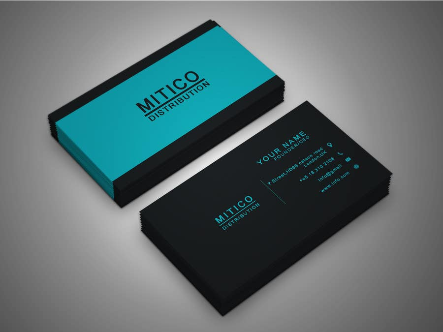 Proposition n°120 du concours Design some Business Cards for Mitico