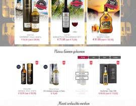 nº 11 pour Please improve elements of graphic design homepage - PSD available par leiden