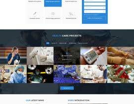 nº 7 pour Homepage Design for a Medical Hub par yasirmehmood490