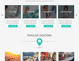 nº 3 pour Homepage Design for a Medical Hub par webmastersud