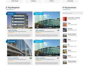 nº 22 pour Homepage Design for a Medical Hub par pradipchavan
