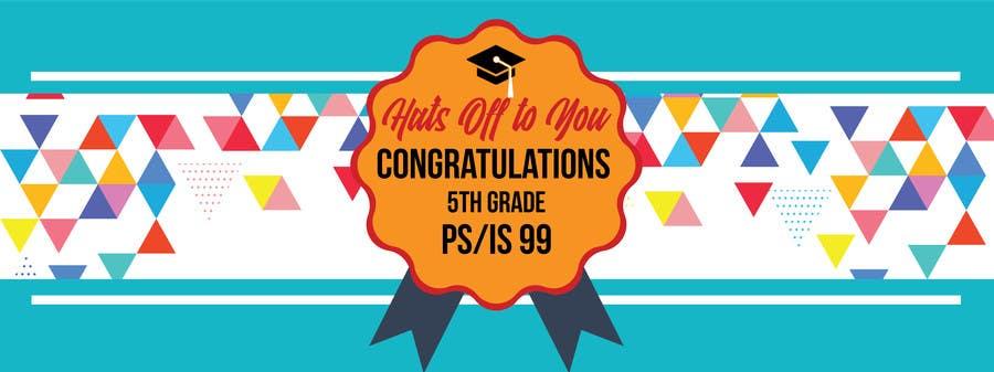 Proposition n°4 du concours Create a Banner for a School Graduation