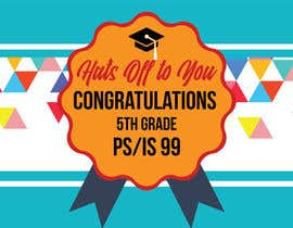 nº 4 pour Create a Banner for a School Graduation par CarleDesign27