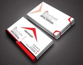 nº 207 pour Design some Business Cards for roofing company - DCM05172017 par RohanPro