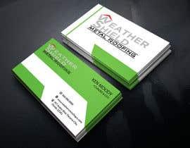nº 198 pour Design some Business Cards for roofing company - DCM05172017 par ahakimit