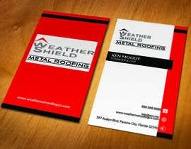 nº 203 pour Design some Business Cards for roofing company - DCM05172017 par ahakimit